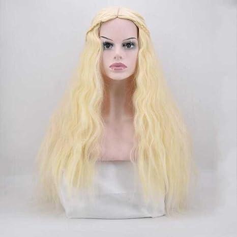 Juego de poder canción de hielo y fuego peluca resistente al calor Mujer Sintético Peluca para