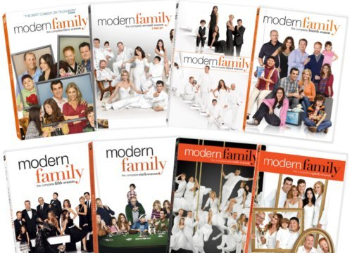 MODERN FAMILY Season 1 - 8 DVD Complete (Modern Family Season 3 Dvd)