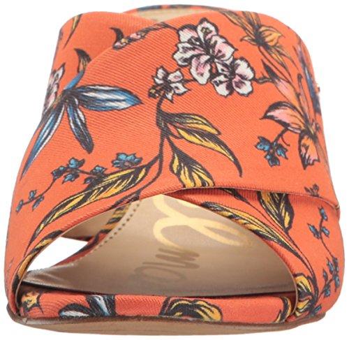 Stanley Slide Edelman Sam Arancione Sandal Women's xfEqqtwd1