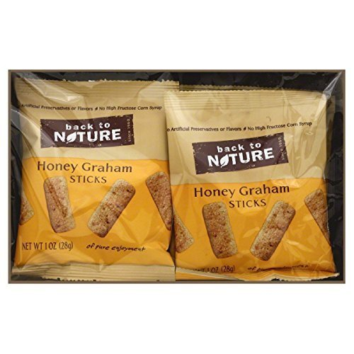 BACK TO NATURE COOKIE HNY GRHM GRAB&GO, 8 OZ by Back to Nature