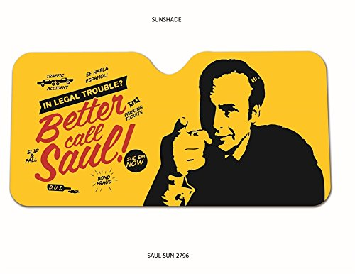 AMC's OFFICIAL Better Call Saul PREMIUM Car SunShade Screen AS SEEN ON THE SHOW