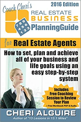 Coach Cheri's Business Planning Guide for Real Estate - Books