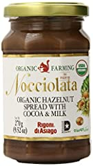 Save On Nocciolata Hazelnut W/Cocoa & Milk Butter (6/9.52 Oz). Please Check The Manufacturers Label For Ingredients Before Use. (Note: This Product Description Is Informational Only. Always Check The Actual Product Label In Your Possession For Th...