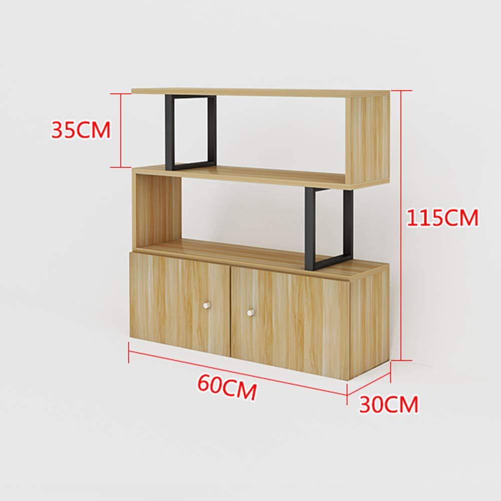 08c2046447e667 Regalbretter ZR - - - Holz S-Form Würfel Kaffeekonsolentisch Aufbewahrung  Büro Bücherregal Wohnzimmer Schreibtisch Ständer Display