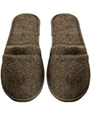 Arus Men's Turkish Terry Cotton Cloth Spa Slippers