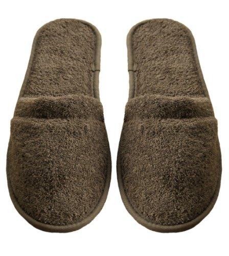 KYB Men's Turkish Organic Terry Cotton Cloth Spa Slippers...