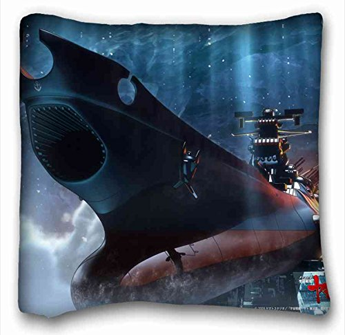 Soft Pillow Case Cover ( Anime Be Forever Yamato ) Pillow Covers Bedding Accessories Size 16