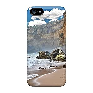 New Arrival Case Specially Design For Iphone 5/5s (beautiful Coastal Cliffs)