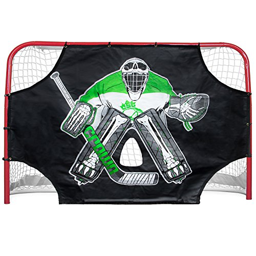 72″ x 48″ Green Skull Sniper Ice Hockey Practice Shooting Target by Crown Sporting Goods