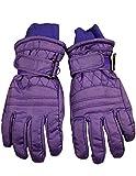Winter Warm-Up - Big Girls' Ski Gloves, Purple 36500-Medium