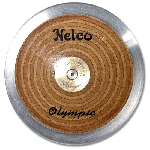 Nelco Laminated Olympic Wood Discus, 1Kg