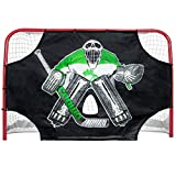"72"" x 48"" Green Skull Sniper Ice Hockey Practice Shooting Target by Crown Sporting Goods"