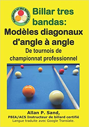 Billar tres bandas - Modèles diagonaux dangle à angle: De ...