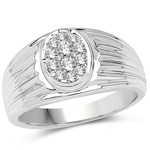 0.45 Ct Genuine Diamonds - 2
