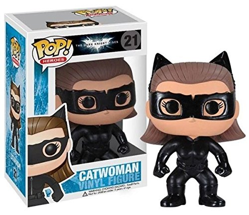 (Funko POP Heroes : Dark Knight Rises Movie Catwoman Vinyl)