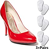 Arch Support Shoe Inserts - Arch Insoles for Women & Men Shoes. Fast Foot Pain Relief from High Arches or Flat Feet. Cushion Orthotic Supports for Plantar Fasciitis Arch Pain & Top High Heels Insert