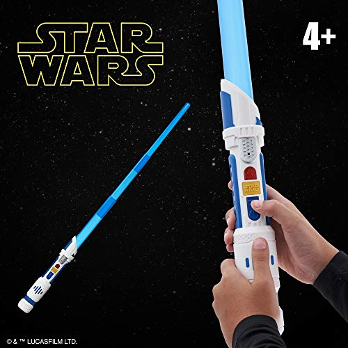 51j7 za0KzL - Star Wars Scream Saber Lightsaber Toy, Record Your Own Inventive Lightsaber Sounds & Pretend to Battle, for Kids Roleplay Ages 4 & Up