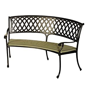 Amalfi Bench Cushion in Olive