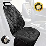 #9: Amor Palms Dog Seat Covers for Cars,Dog Seat Cover for Front Seat,Dog Seat Covers for Trucks and SUV's, Vehicles, Dog Seat Covers Waterproof Nonslip and Easily Install – Black