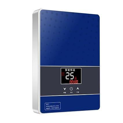 Calentador de Agua eléctrico instantáneo baño pequeño Ducha termostato de baño Ducha 6050W 220v Calentador de