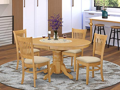 5 Pc Dining set-Table and 4 Dinette Chairs.