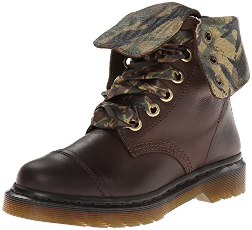 Dr. Martens Aimilita, Women's Boots Brown (Dark Brown Polished Wyoming)