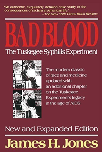Bad Blood: The Tuskegee Syphilis Experiment, New and Expanded Edition by James H. Jones (1993-01-15)