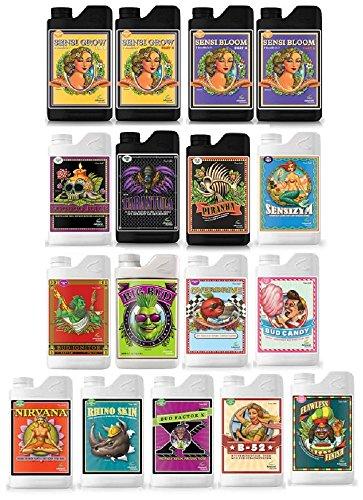 Big Bud Powder (Advanced Nutrients pH Perfect Sensi Bundle (Sensi Grow & Bloom + Hobbyist, Professional, Expert & Grand Master Additive Bundles) (23 Liters))
