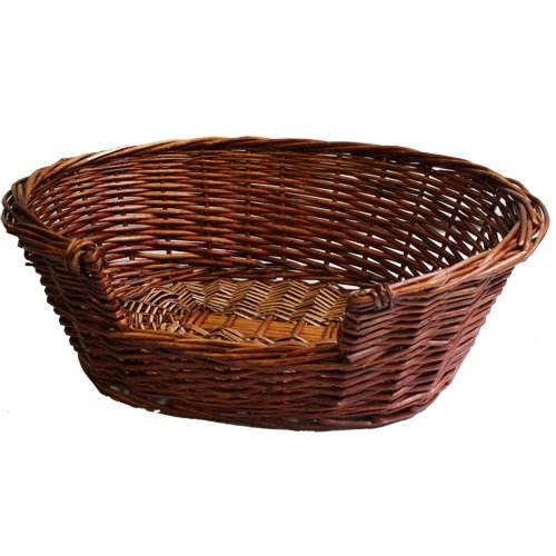 JVL Pet Basket Willow, 58 x 49 x 20 cm