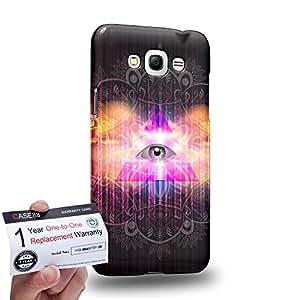 Case88 [Samsung Galaxy Grand Max] 3D Printed Snap-on Hard Case & Warranty Card - Eye Of Divine Providence Nebula