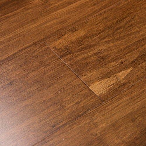 Cali Bamboo Solid Wide Click Bamboo Flooring Java Brown