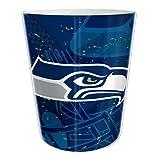 "The Northwest Company Seattle Seahawks NFL 10"" Bath Waste Basket (Scatter Series)"