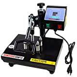 Transfer Crafts T-Shirt Heat Press, Digital Sublimation and Transfer Press Machine (9 x 12)