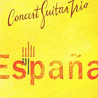 España, Op. 165: II. Tango de Concert Guitar Trio en Amazon Music - Amazon.es