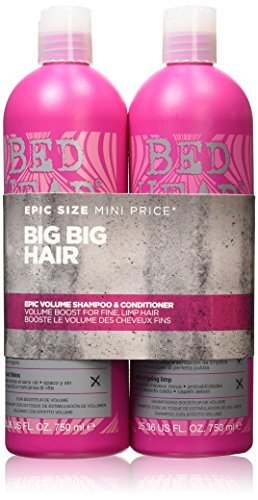Tigi Bed Head StyleShots Epic Volume Shampoo and Conditioner Due Set 750 ml by Bed Head