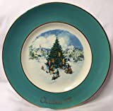 Avon 1978 Christmas Plate, Trimming the Tree