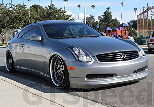2003 Infiniti G35 Coupe >> NEW - 03-06 INFINITI G35 Coupe GIALLA Style PU Front Bumper Lip - Buy Online in UAE. | gear up ...