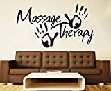 Decal Massage Vinyl Sticker Sign Spa Salon Massage Salon Design Decor By Oumanzhi