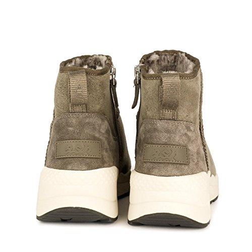Ash Zapatos Miko Botines Negro Mujer Topo