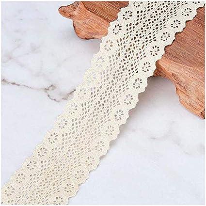 Amazoncom Vu100 Crochet Lace Trim Ribbon Cotton 1 14 Inches