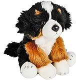 "Wildlife Tree 12"" Stuffed Bernese Mountain Dog Puppy Plush Floppy Animal Heirloom Collection"