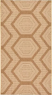 Modern Abstract Geometric Outdoor Contemporary Area Rug