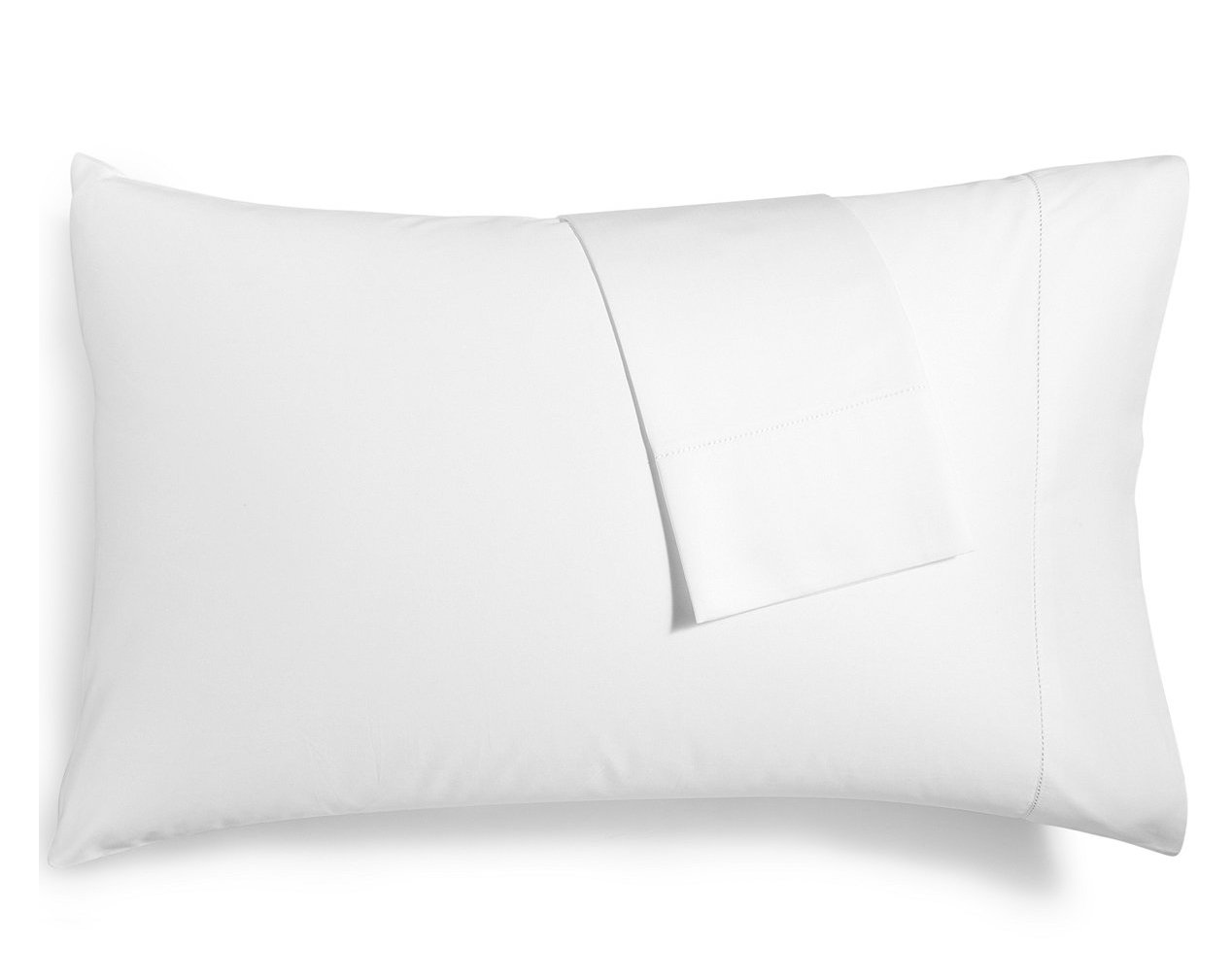 Hotel Collection Pair of 680 Thread Count 100% Supima Cotton King Pillowcases White