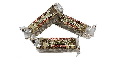 LAPASION - Porciones de turrón Bombon almendra 2.5Kg: Amazon.es: Alimentación y bebidas
