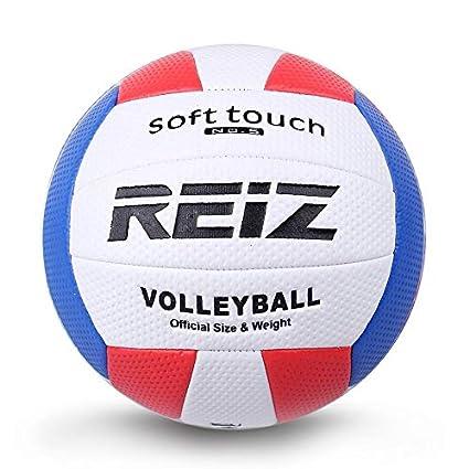 ClookYuan Soft Touch PU Leather 5# Balón de Voleibol Competencia ...