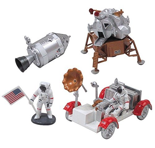 InAir E-Z Build Model Kit - Apollo Lunar Module with Lunar ()