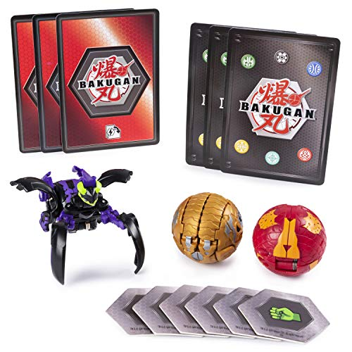 (Bakugan 6045144 Starter Pack Set Assortment, Multi Colour )