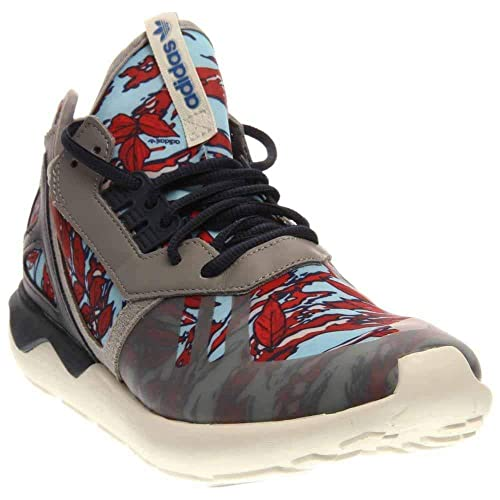 cheap for discount d1070 ad032 Adidas Originals Tubular Runner (10, Solid Grey Collegiate Navy Off White)