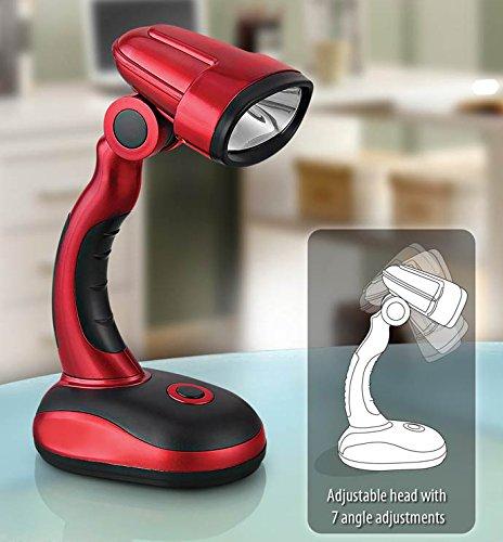 PeepalComm METALLIC COB DESK LED LAMP (CLICK ADJUSTABLE NECK)