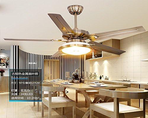 Ventilador de techo, restaurante La luz del ventilador, simple y ...